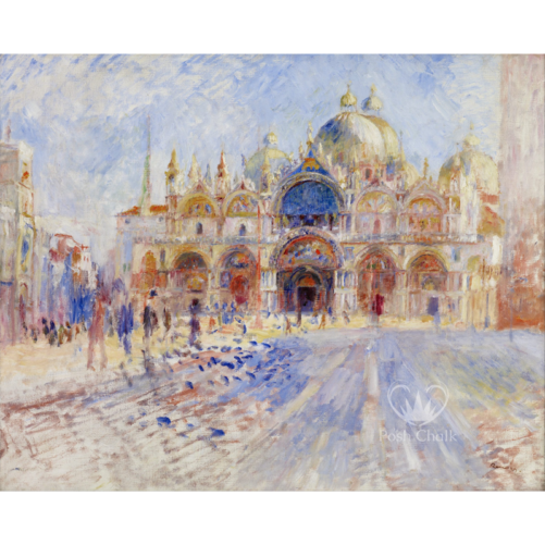"Carta da Découpage ""Venetian Palace"" in Carta di Riso Posh chalk 28,5x40cm"